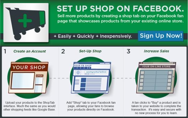 shop on facebook